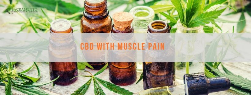 CBD with Muscle Pain