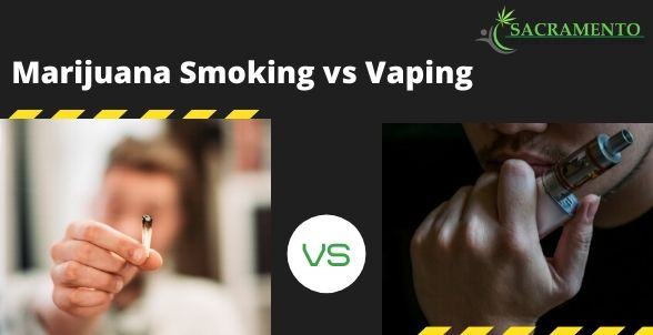 marijuana smoking vs vaping